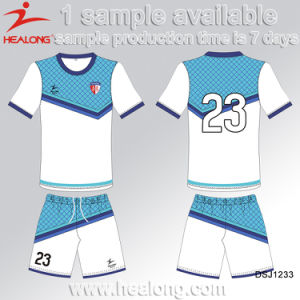 Customized Fashion Style Soccer Jersey pictures & photos