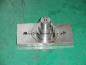 Stepped Axle Journal with Rectangular Plate