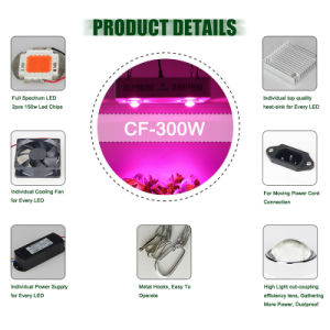 Shenzhen Cheap Wholesale LED Grow Lights with Full Spectrum pictures & photos