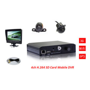 Best Price 3G WiFi 4CH SD Card Mobile DVR pictures & photos