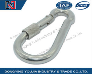 Stainless Steel Spring Hook with Nut pictures & photos