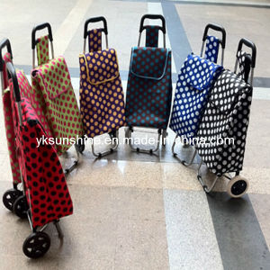 Foldable Shopping Trolley (XY-407C) pictures & photos