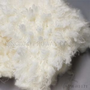 Textured Feather Yarn Like Blossom Cluster in 100%Polyester pictures & photos