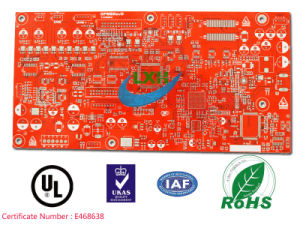 6-Layer HASL Quick Turn Around PCB Board for Radio Device
