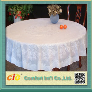 PVC Table Cloth PVC Lace Tablecloth pictures & photos
