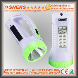 Solar 1W LED Torch with 12 LED Desk Lamp (SH-1960) pictures & photos