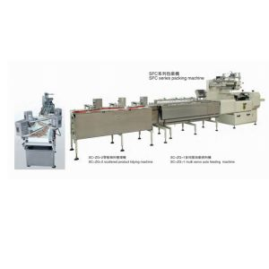 Biscuit Auto Tidying and Packing Machine pictures & photos