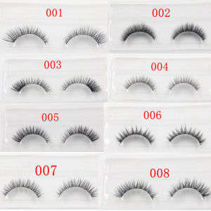 Pure Hand Woven Cotton Eyelashes Color Mink Fur Lashes pictures & photos