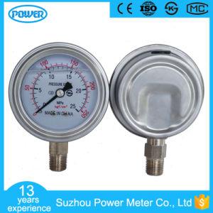 63mm Liquid Filled Pressure Gauge Connection PT1/4 pictures & photos