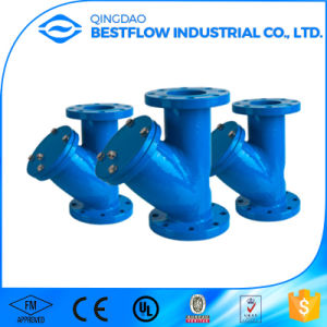 Cast Iron DIN3202 Y Type Strainer/ Y Strainer Pipe Fittings pictures & photos