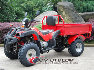 China Made Zhejiang Quad Bikes Gas-Powered 4-Stroke 150cc Air Cooled Farm Version Veicle pictures & photos
