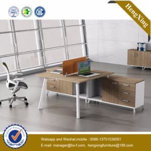 (UL-NM096) MDF Office Furniture 4 Persons Office Partition Wooden Workstation pictures & photos