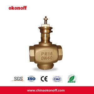 2 Way/3 Way HVAC Brass Regulating Modulating Valves (CV0323) pictures & photos