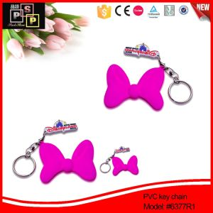 Lovely Girls′ Gift PVC Key Chain (6377) pictures & photos