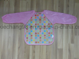 PEVA Printed Baby Bibs with Sleeve pictures & photos