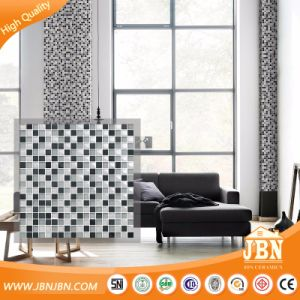 Interior Bathroom Wall Beige Color Crystal Mosaic (M855006) pictures & photos