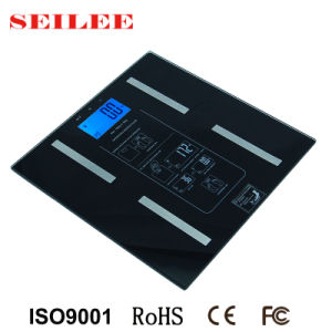 Multifunction 6mm Tempered Glass Body Fat Weighing Scale pictures & photos