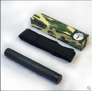 High Quality Tactical Baton Self Defense Rubber Telescopic Baton (SYSG-96) pictures & photos