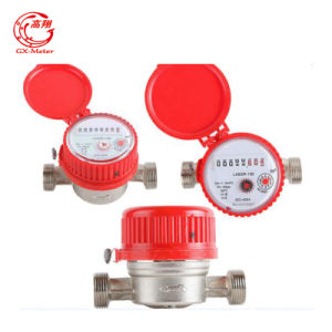 One Jet Single Water Meter Dn15-25mm pictures & photos