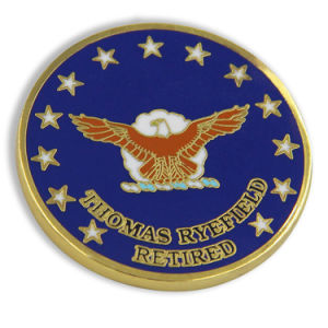 National Geospatial-Intelligence Agency Hard Enamel Police Challenge Coin pictures & photos