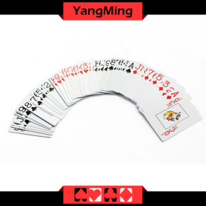 100% PVC Plastic Texas Holdem Poker Playing Cards Waterproof and Dull Polish Poker Star Board Games (YM- PC02) pictures & photos