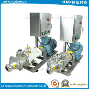 Sanitary Stainless Steel Chocolate Transfer Machine Twin Screw Pump pictures & photos