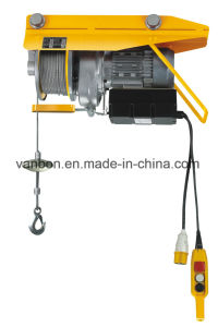 Vanbon Mini Wire Rope Hoist PA200 pictures & photos