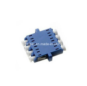 LC/Upc Simplex Quad Blue Adaptor with Flange pictures & photos