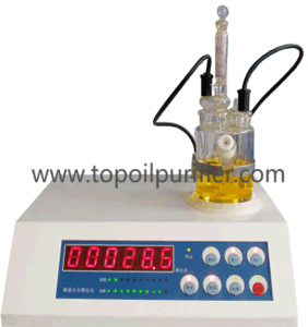 Digital Karl Fischer Coulometric Water Content in Liquid Tester (TP-6A) pictures & photos
