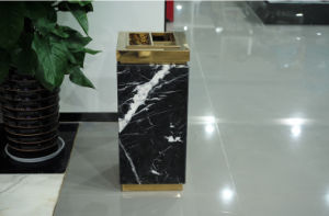 Black Marble Heavy Duty Ash Bin (YH-19) pictures & photos