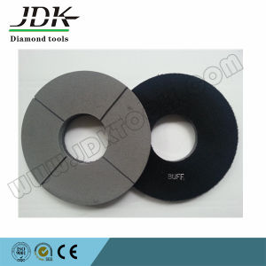4 Inch Black Polishing Buff Pads for Pakistan Granite pictures & photos