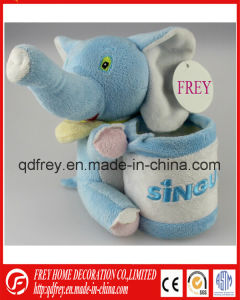 Promotional Gift of Stuffed Animal Toy Pencile Box pictures & photos