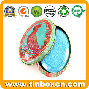 Oval Tin Metal Cans Hand Soap for Gift Packaging Box pictures & photos