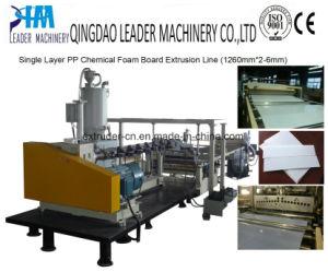 Single Layer PP Plastic Chemical Foam Sheet Production Line pictures & photos