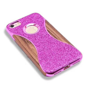 Waist Design Electroplated Quicksand TPU Cell Phone Case for iPhone8 pictures & photos