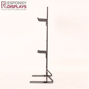 Metal Shoelace Countertop Display Stand in Retails Accessory Store pictures & photos