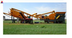High Efficient Mobile Crusher for Stone Crushing pictures & photos