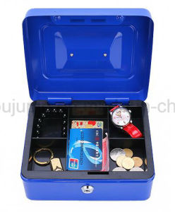 OEM Metal Handle Jewelry Lock Safe Box Case pictures & photos