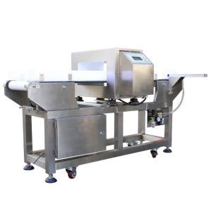 Metal Detection for Food Inspection with Chain Conveyor Belt pictures & photos