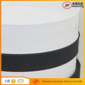 "High Quality 4"" Wide Crochet Elastic Band for Garment pictures & photos"