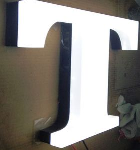 Outdoor Advertising Waterproof Acrylic Facelit/Backlit Channel Letters pictures & photos
