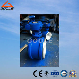 Butt Welding Metal Seated Butterfly Valve (GA363H/F) pictures & photos