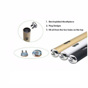 Patent Flat Cbd Oil Disposable Vape Pen 300 Puffs No Button Vaporizer Pen Cartridge for Essential/Thick/Cbd/Thc/CO2/ Oil pictures & photos