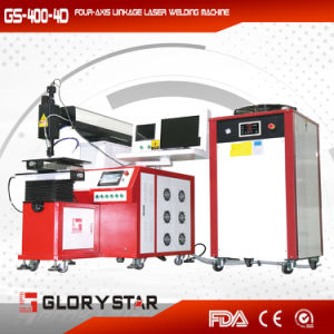 Four-Axis Linkag Laser Welding Machine for Metal Industry with Ce pictures & photos