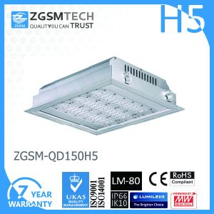 100W LED Gas Station Canopy Light 120lm/W Philips 3030 Chip pictures & photos