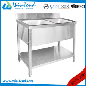 Commercial Stainless Steel Kitchen Apron Sink for Restaurant pictures & photos