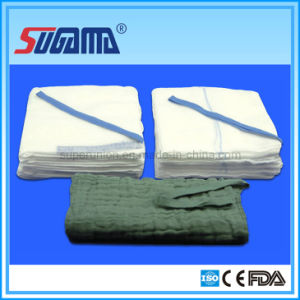 OEM Cotton Non-Sterile Gauze Lap Sponges for Surgical Use (non-washed and pre-washed available) pictures & photos