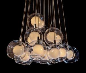 2015 LED 19 Light Bulb Art Chandelier