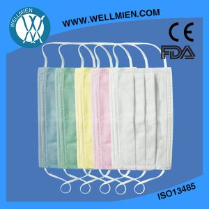 Colorful Cheap Face Mask 3 Ply Surgical Eearloop Face Masks pictures & photos
