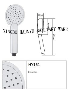 Hand Shower, Hand Shower Head, New Shower Head (HY161) pictures & photos